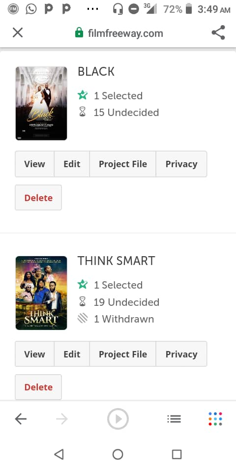 GHANAIN KUMAWOOD MOVIES - (THINK SMART & BLACK) - PRODUCED BY PATRICIA OSEI BOATENG NOMINATED IN A HOLLYWOOD FILM FESTIVAL.