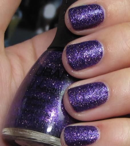 Violet Sparkle - 2 coats