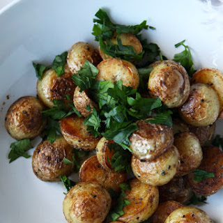 Fried Potatoes With Skin Recipes