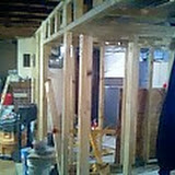 Framing and construction of Germantown Animal Hospital - 02-13-07_1213.jpg