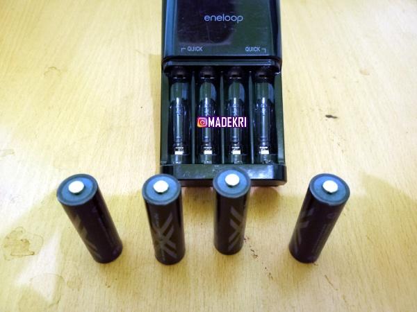 Baterai Sanyo Eneloop Tiba-tiba tidak bisa di Isi Ulang