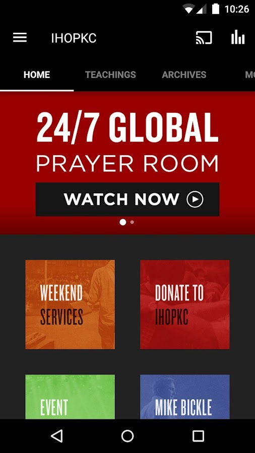 International House of Prayer- screenshot