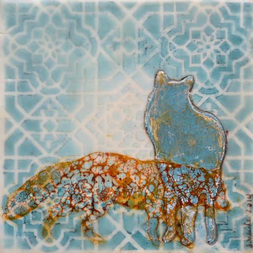 Too Blue. Artist Jillian Waite