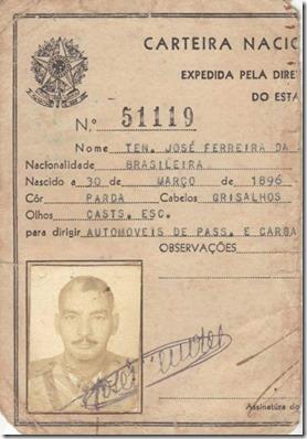 Carteira de motorista Ferreira