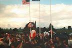 New airborne monument at Grave Bridge - Market Garden 1994