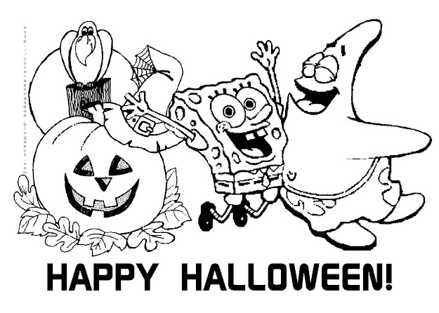 Happy Halloween Coloring Pages Photozup Hello Kitty Halloween