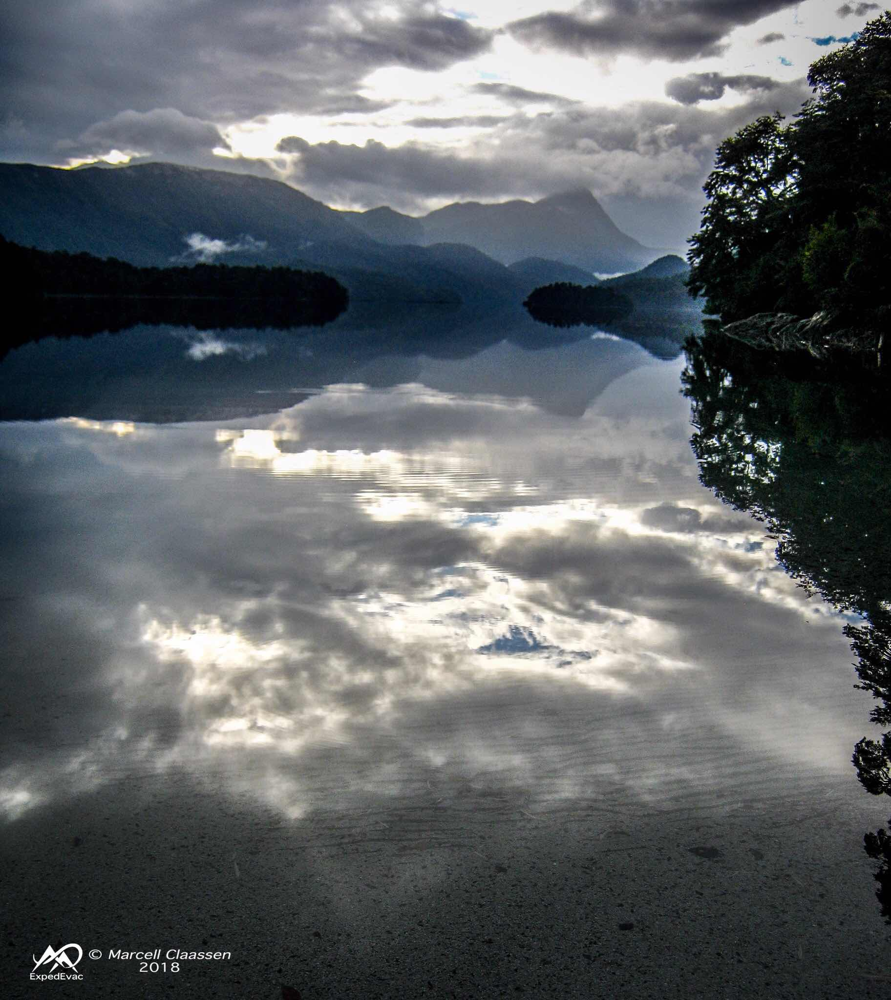 Lago Espejo - cloud mirror