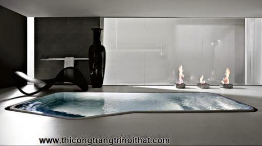 """18 chiếc bồn tắm cực """"cool"""" khiến bạn chìm đắm mãi không rời - Thi công trang trí nội thất-10"""