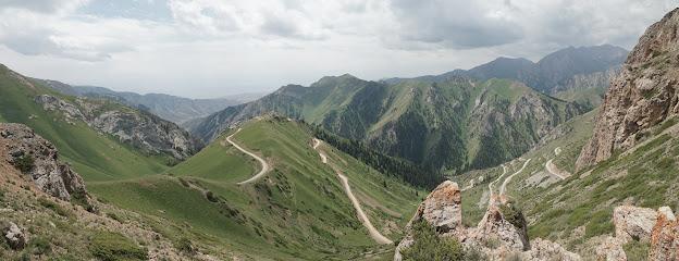 Toller Ausblick vom Moldo Pass