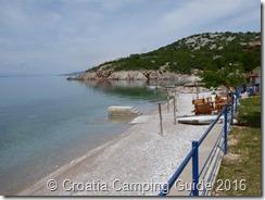 Croatia Camping Guide - Camping Sibinj, Beach