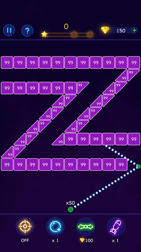 Bricks Breaker - Ball Crusher android2mod screenshots 2