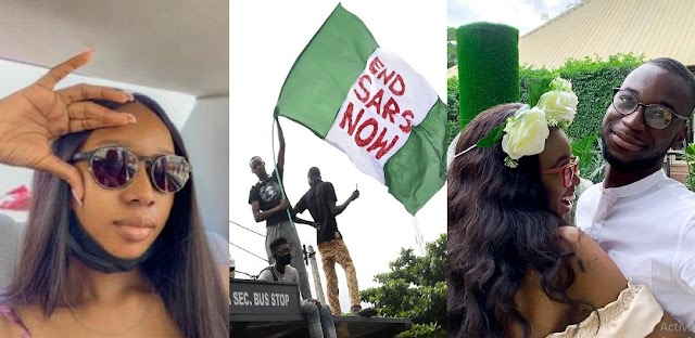 Girlfriend of young man killed during EndSARS protest narrates how his 'ghost' visited her to say goodbye and gave her his password