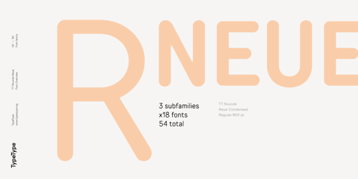 Download TT Rounds Neue Fonts by TypeType