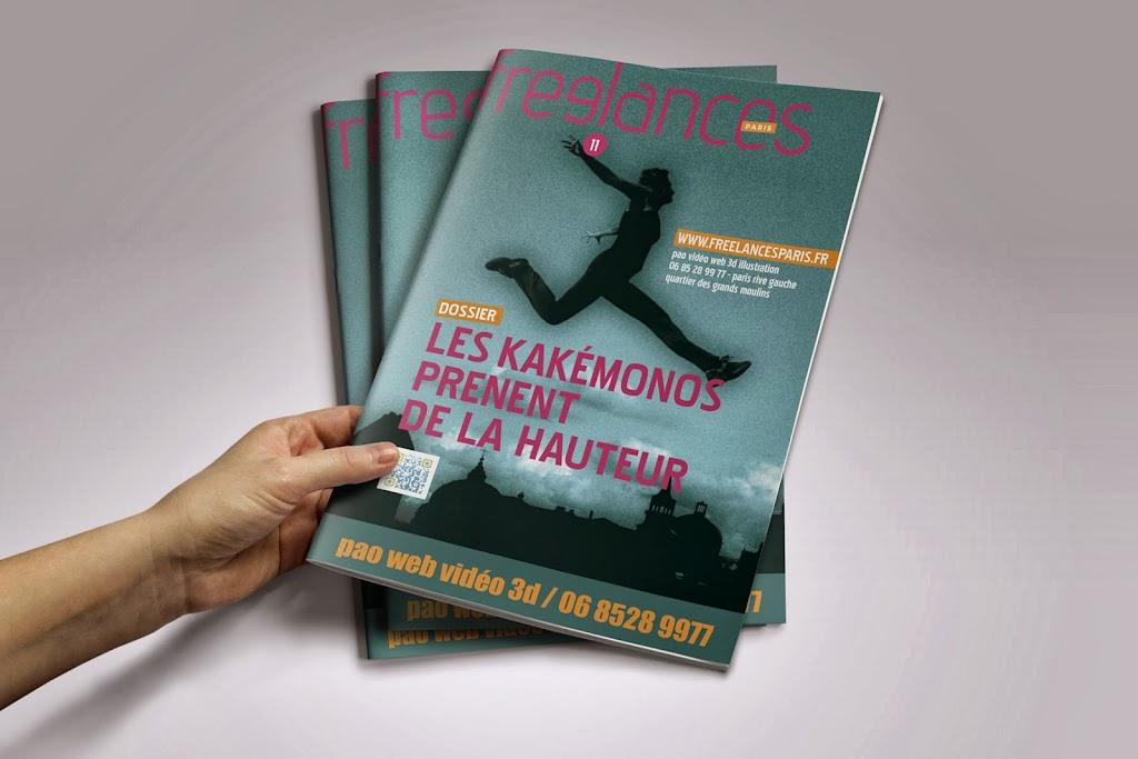 magazine Freelances PAO Les kakémonos prenent de la hauteur
