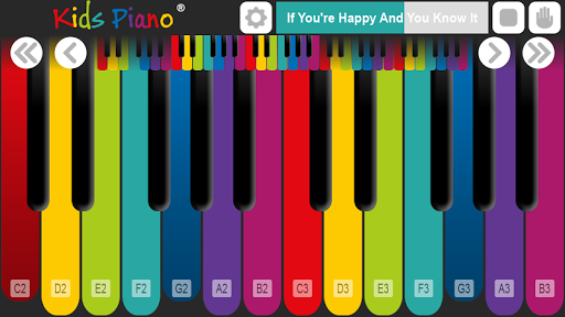 Kids Piano u00ae 2.2 screenshots 3