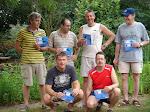 Duikclub The Bubble Mates is weer 6 nieuwe rescue divers rijker. Michel - Frans - Hans - Thijs - Peter(Nek) - Jos
