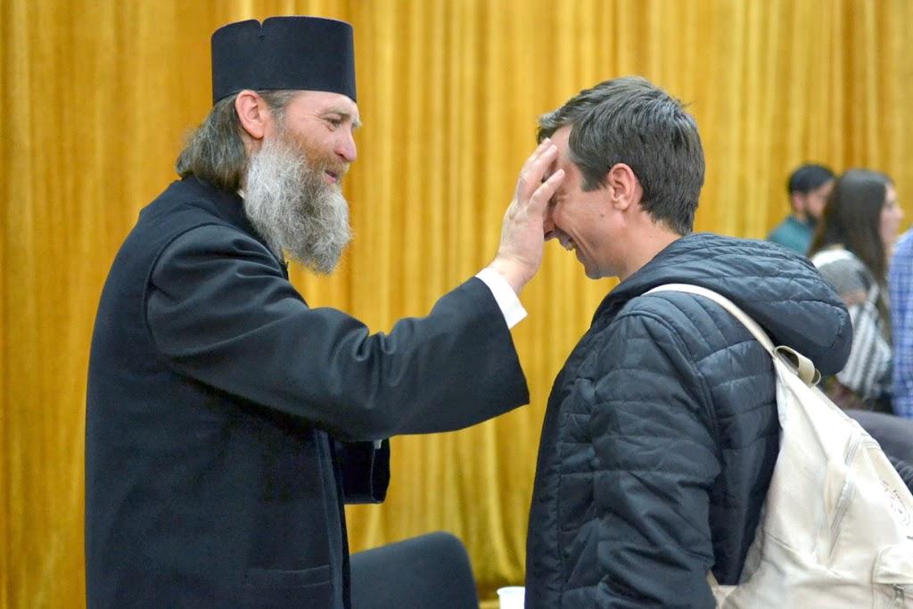 096 Avva Justin Parvu si Sfintii inchisorilor (Teatrul Luceafarul, Iasi, 2014.03.19)