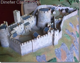 Dinefwr Castle model