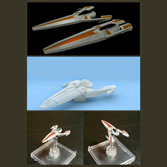 Aurek Fighter de Mel Miniatures