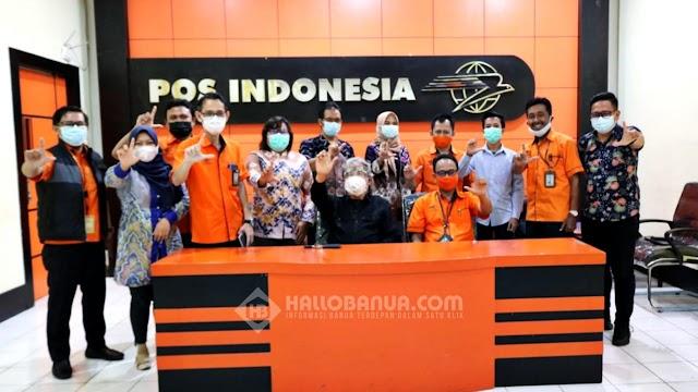 Prodi IPS ULM dan PT Pos Indonesia Berkolaborasi Kembangkan Pembaharuan Pelayanan