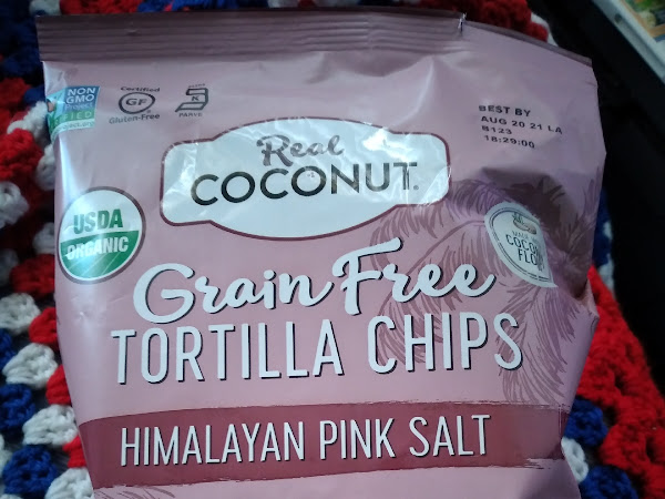Real Coconut Himalayan Pink Salt Tortilla Chip Review