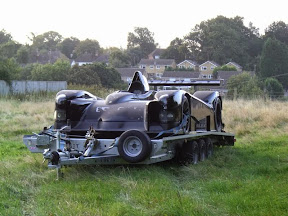Abandoned LeMans Racer