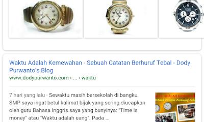 Alhamdulillah, Artikel Bisa Terindeks Di Google