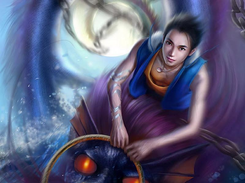 Sorcerer Of Blue Power, Sorceress 3