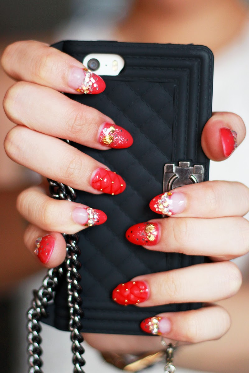 JAMIETYJ | Singapore\'s Beauty & Lifestyle Blogger: CNY2014 by D\'Nail ...
