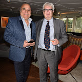 OIC - ENTSIMAGES.COM - Iqbal Latif - International Businessman and Developer - Hotel Rafayel and Professor Brian Sturgess – Economist and managing editor of World Economics at  The Business of Brexit – In or Out Debate  in London  9th June  2016 Photo Mobis Photos/OIC 0203 174 1069