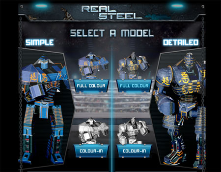 Real Steel Papercraft Noisy Boy