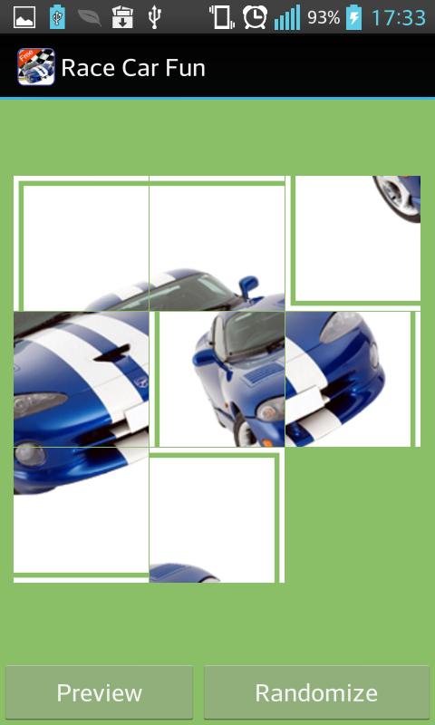 toddler race car games free screenshot