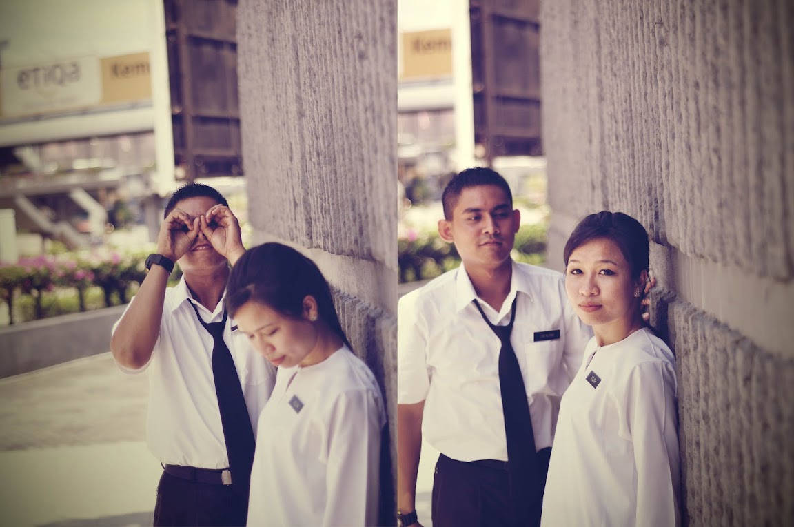 aslina back to school prewedding malaysia