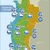 Actualizado: Se pronostican fuertes vientos y lluvia en la región de Coquimbo