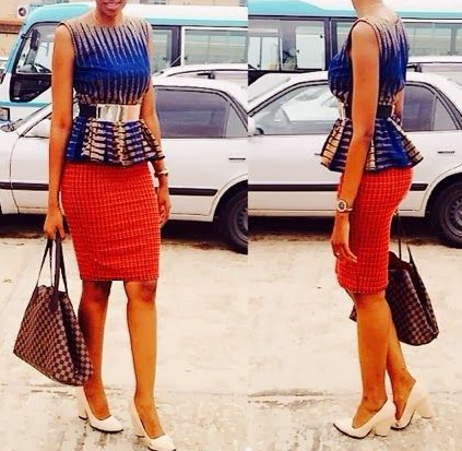 20 + Latest Ankara Skirt and Blouse Styles 2017