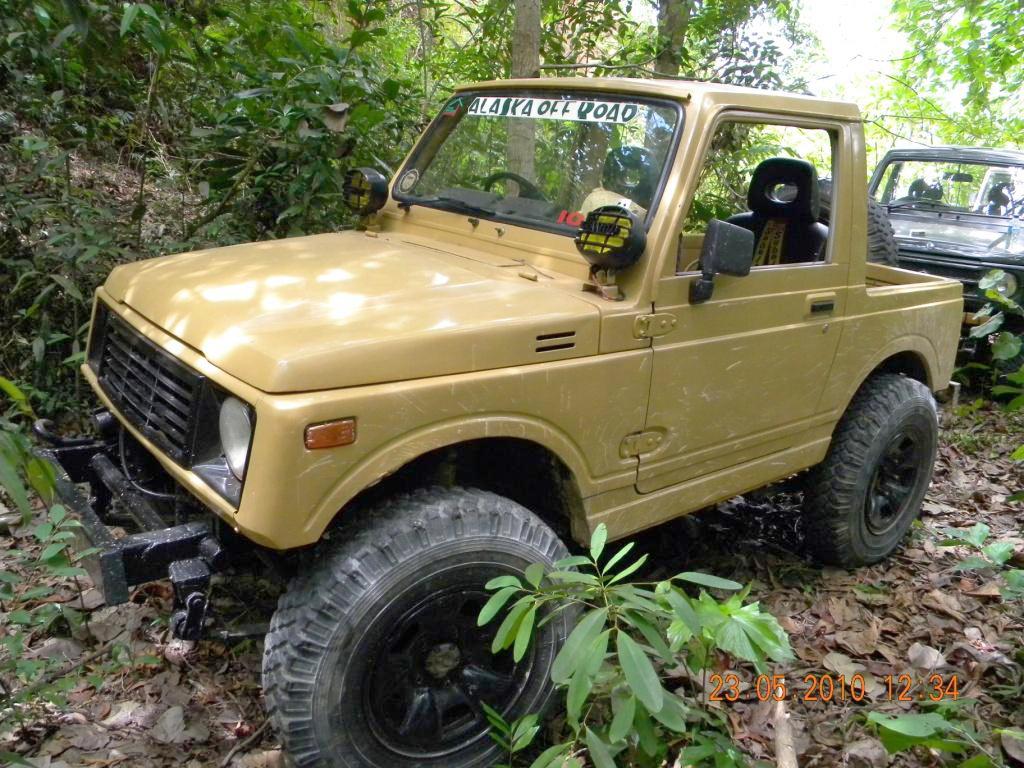 Suzukijeepinfo  Gazali Djajasasmita  U2502 Suzuki Sj410 Katana