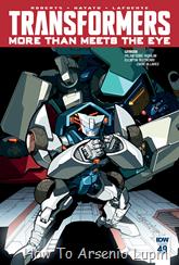 Actualización 28/03/2016: Transformers - More than Meets the Eye #49, traduce DarkScreamer, revisa Serika y maqueta Byjana.