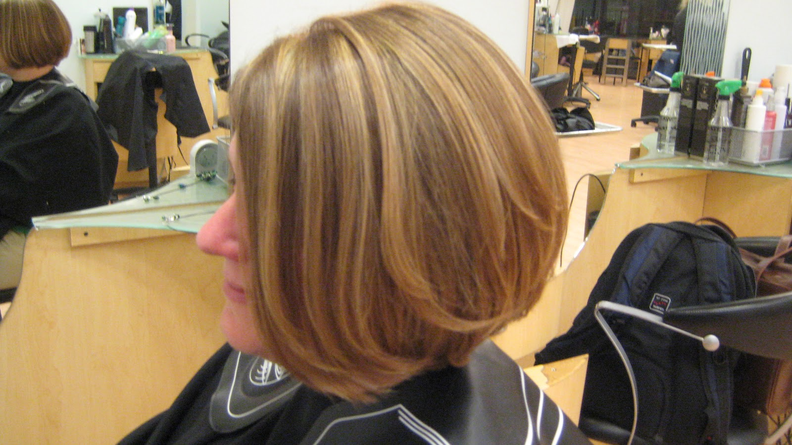 Light brown hair with blonde highlights before and after pictures tammy favata hairstylist pmusecretfo Image collections