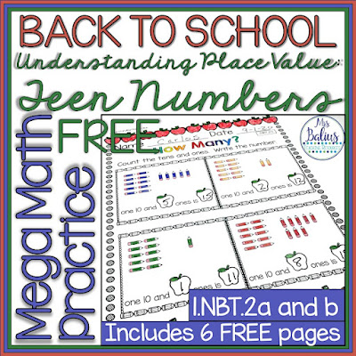 Try this free Mega Math Practice activity and learn what's to love about the year long bundle.