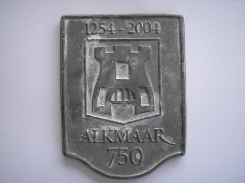 Naam: 750 jaar AlkmaarJaartal: 1245-2004