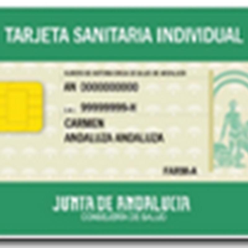 Tarjeta Sanitaria Centro De Salud De Constantina