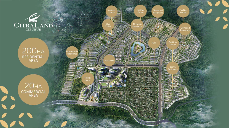 Masterplan Citraland Cibubur Terbaru 2021