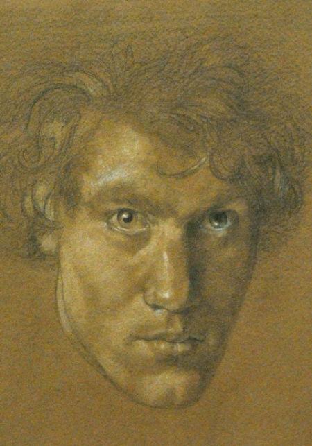 A 1912 Self Portrait By Austin Osman Spare, Austin Osman Spare