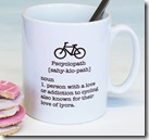 Cycling lovers mug