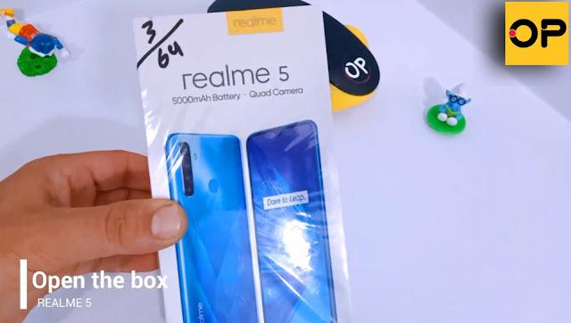 فيديو Realme 5 | فتح صندوق واستعراض مظهر