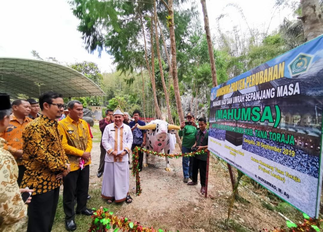 Sukseskan 3 Pilar Toraya Maelo, Kemenag Tana Toraja Lauching Proyek Perubahan Mahumsa