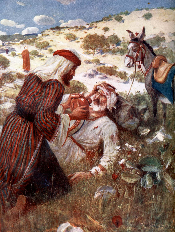 Bible Stories Good Samaritan | Bible Vector - 10 Full ... | 1129 x 1500 jpeg 262kB