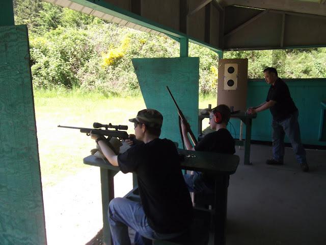 Sighting in the new gun