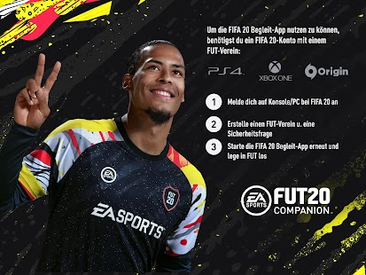 EA SPORTS™ FIFA 20 Companion Screenshot