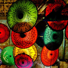 Myanmar Umbrella by Aung Kyaw Soe - Artistic Objects Other Objects (  )